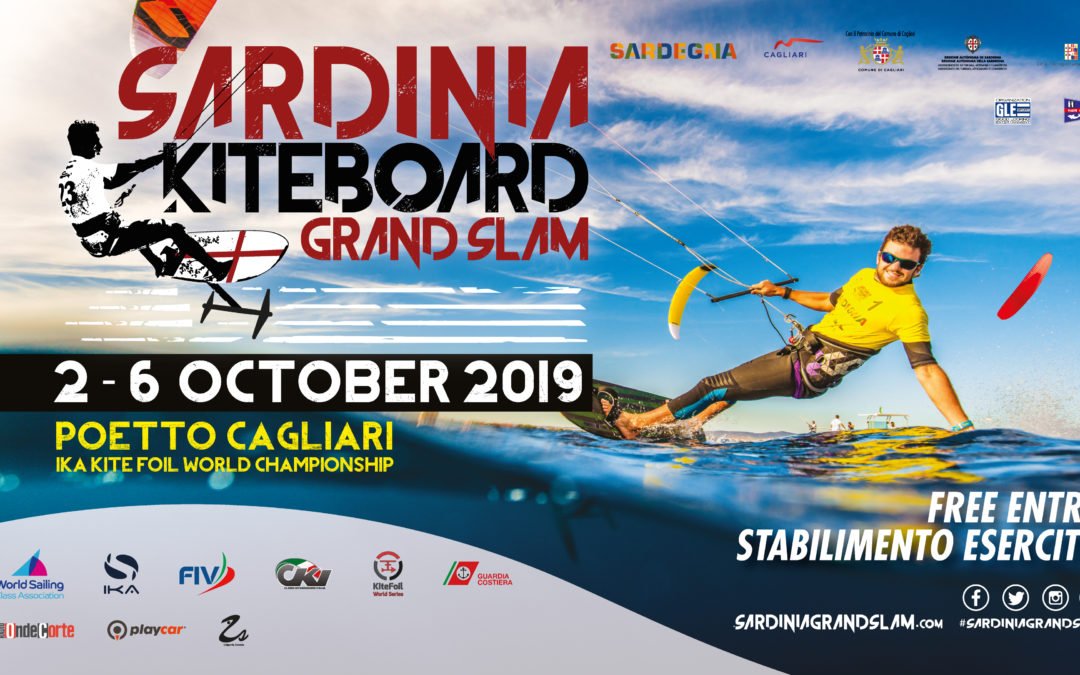 Visual design per il Sardinian Kiteboard Grand Slam 2019